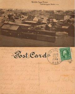HOLDREGE NE 1915 ANTIQUE POSTCARD