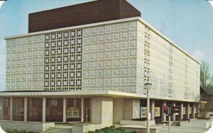 Public library , LANSING , Michigan , 50-60s