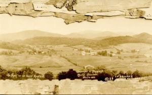 VT - Plymouth. Bird's Eye View, 1920's.    *RPPC