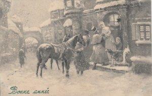 V.K.. VIENNE : 1909 ; Christmas Street view