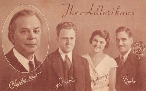 Adlerikans~Charlie Kent Singers~Dave Nancy & Bob~Microphone~Radio Stations~1935