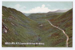 Crawford Notch from Mt Willard White Mountains NH ca 1910