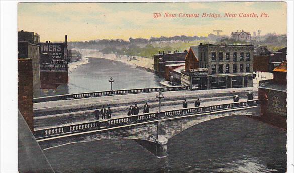 Pennsylvania New Castle New Cement Bridge