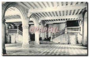 Old Postcard Belgium Leuven The halls Concourse