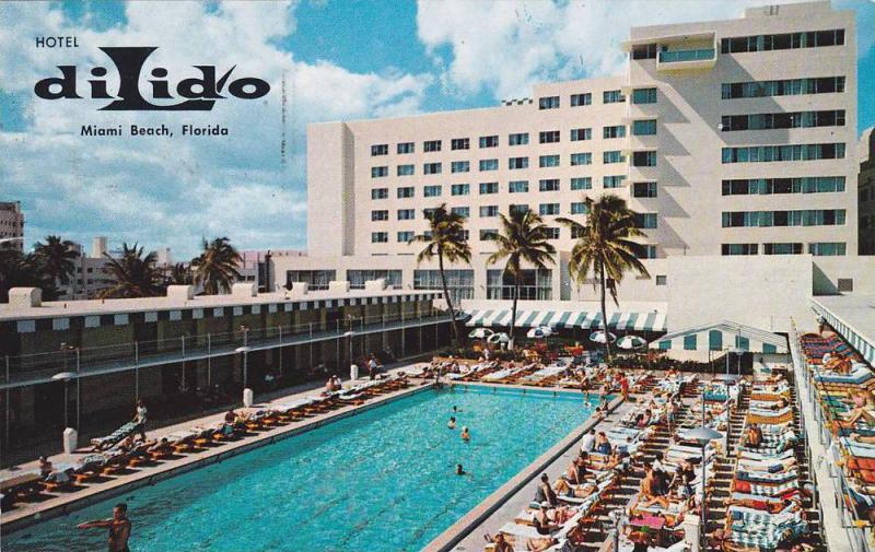 Hotel DiLido, Swimming Pool, Miami Beach, Florida, PU-1960