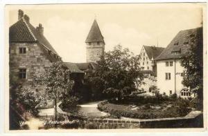RP  Veste Coburg, Festungshof, Germany, 19190s