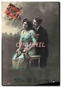 Old Postcard Fantaisie St louis