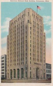Michigan Kalamazoo American National Bank Building 1944 Curteich