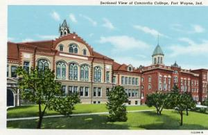 IN - Fort Wayne, Sectional View of Concordia College