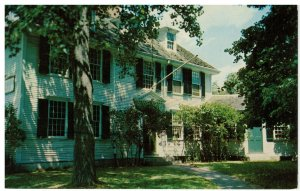 Postcard Buckman Tavern Headquarter For Minuteman American Revolution Lexington