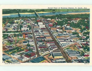 Pre-1980 AERIAL VIEW Fort Smith Arkansas AR AD0247