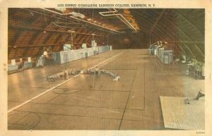Lou Gehrig Gymnasium Sampson College, Sampson New York  Interior Scene, Students