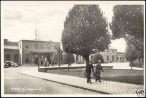 sweden, NÄSSIÖ, Järnvägsstationen, Station (1950s) RPPC