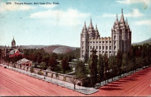Utah Salt Lake City Temple Square 1910
