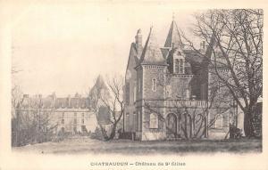 France Chateaudun - Chateau de St Gilles CPA