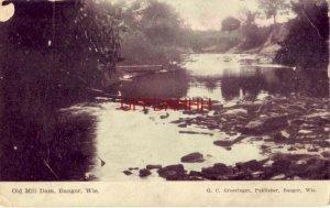 1909 OLD MILL DAM, BANGOR, WI
