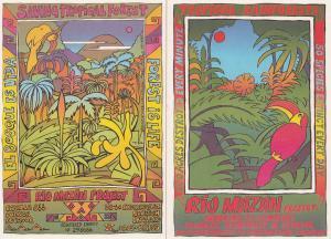 Rio Mazan Save The Tropical Forest Ecuador 2x Postcard s