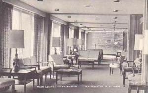 Wisconsin Whitewater Main Lounge Interior Fairhaven Artvue