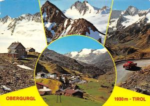 Obergurgl Tirol Gesamtansicht Berg Road Auto Car Mountains