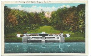 Flowing Wall, Oyster Bay LI NY