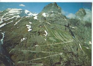 orway, Norge, Trollstigen, impressive mountain road from Andalsnes to Valldal