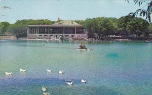 Minnesota St Paul Lake Como and Pavilion