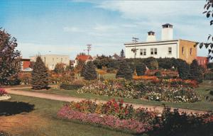 Park at Fire Hall , RED DEER , Alberta , Canada , 50-60s