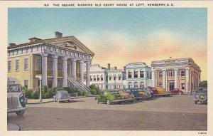 The square, showing Old Court House, Newberry, South Carolina,  30-40s