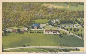 BLUEFIELD , West Virginia , 30-40s Air view of College