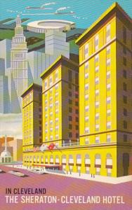 Ohio Cleveland The Sheraton-Cleveland Hotel Public Square