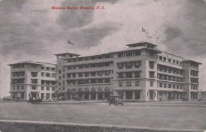 MANILA, Philippine Islands, 1900-10s,  Manila Hotel