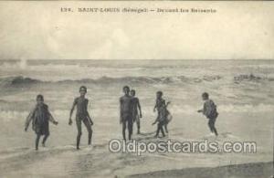 Senegal African Life Postcard Post Card  Senegal