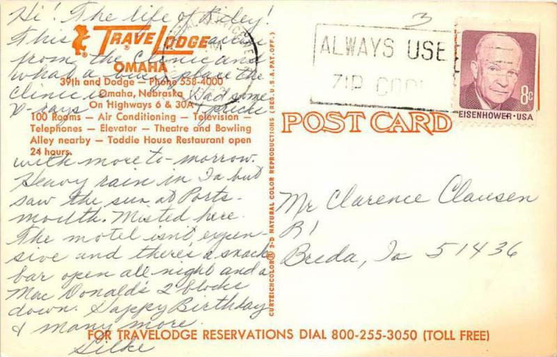 4795 NE Omaha   Travel Lodge Motel
