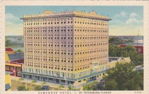 Florida St Petersburg The Suwannee Hotel 1940 Curteich