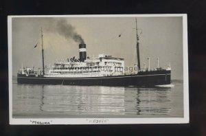 LS1926 - British India Steam Nav Liner - Madura - postcard