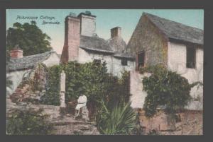 090306 BERMUDA Picturesque Cottage Vintage PC