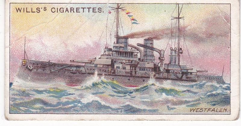 Cigarette Card Wills The World's Dreadnoughts (1910) No 13