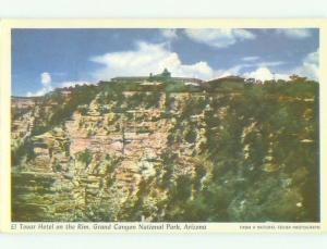 Unused Pre-1980 EL TOVAR HOTEL Grand Canyon National Park Arizona AZ hr3696