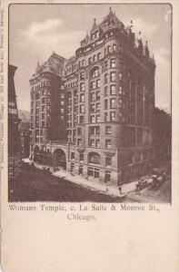 Illinois Chicago Womans Temple C La Salle & Monroe Street