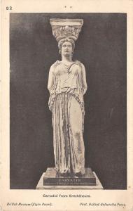 BF34925 carvatid from erechthuem sculpture brithish museum  art front/back scan