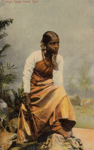 High Caste Tamil Girl , CEYLON , 00-10s