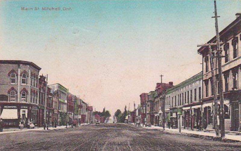 Main Street, Mitchell, Ontario, Canada, 1912