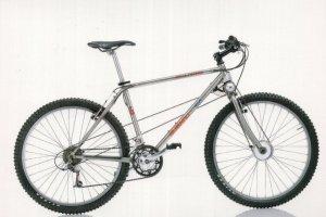 Subaru 2WD Dual Power Taiwan 1990s Bike Bicycle Cycle Postcard