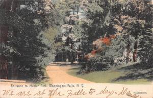 Entrance to Mesier Park, Wappingers Falls, N.Y., Used in 1906, Hand Colored
