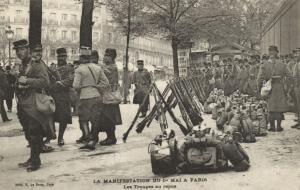 CPA Paris 2e (Dep. 75) La Manifestation du Ie Mai a Paris (82172)