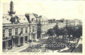 Bone Constantine Cours Bertagna et Hotel de Ville, Turkey Postcard Post Card,...