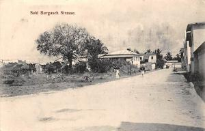 German East Africa Tanzania Dar-Es-Salaam, Dar es Salaam, Said Burgasch Strasse