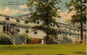 AR - Camp Robinson. Service Club