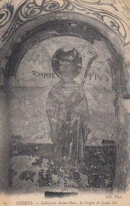 LOCHES, Indre Et Loire, France, 1900-1910's; Collegiale Saint-Ours , la Crypt...