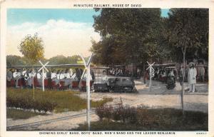 E29/ Benton Harbor Michigan Mi Postcard 1933 Miniature Railroad House of David 2